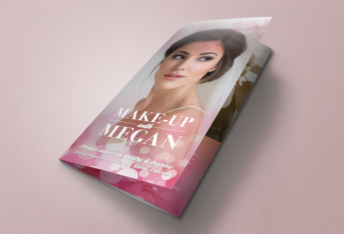 Make-Up With Megan brochure