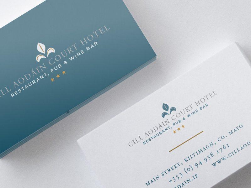 Cill Aodain Court Hotel Business Card
