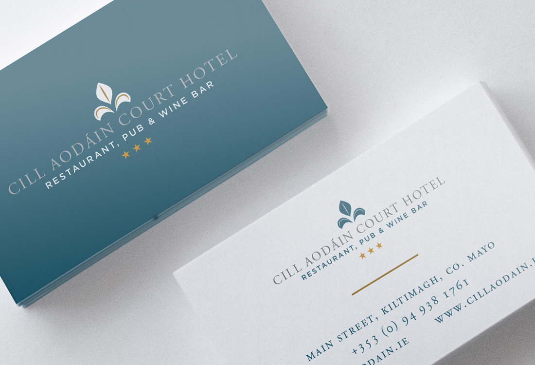 Cill Aodain Court Hotel Business Card