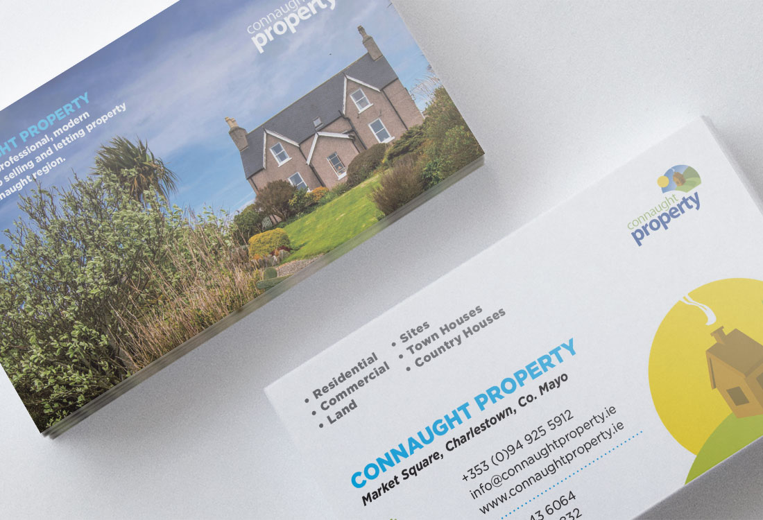 Connaught Property Business Card