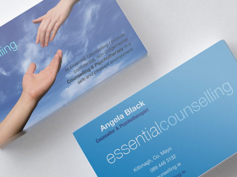 Essential Counselling Business Card