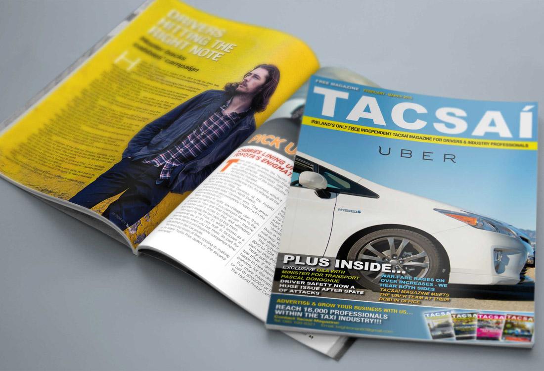 Tacsaí Magazine - Magazine Design Ireland