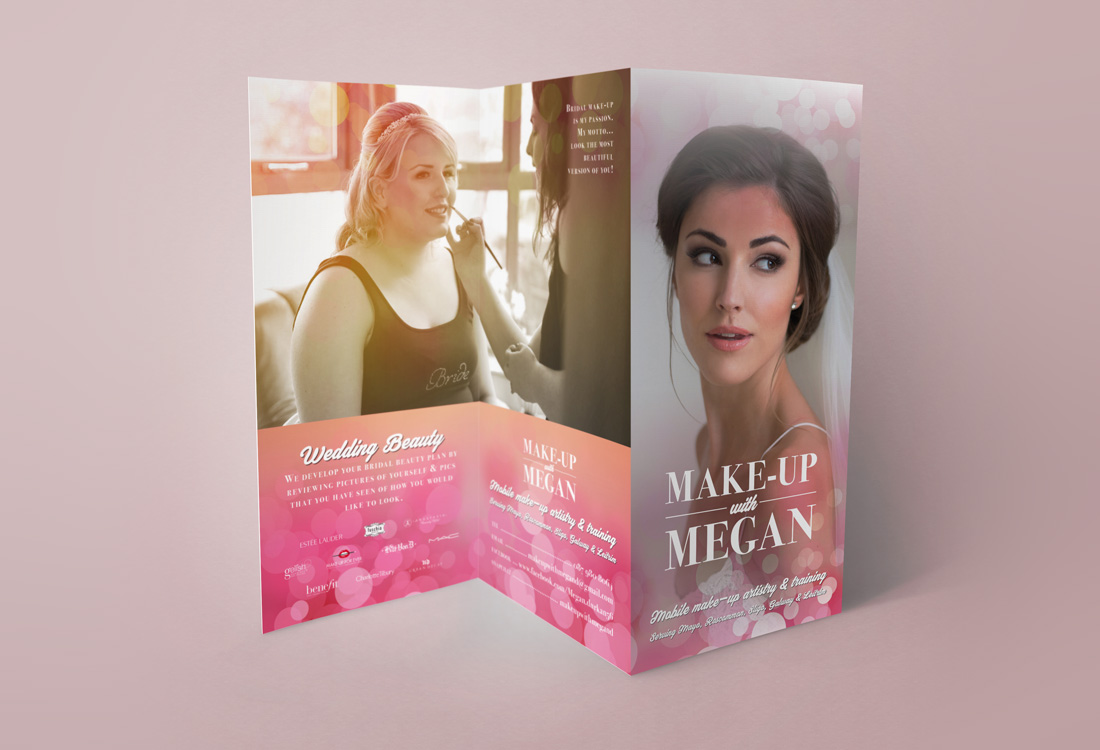 Make-Up With Megan brochure