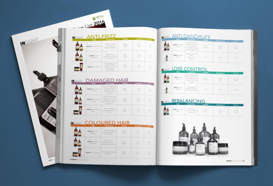 brochure design pricing - insight professional a4 brochure design